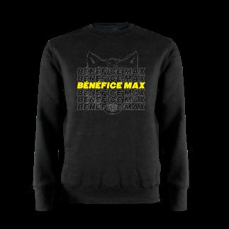 SWEAT COL ROND - BÉNÉFICE MAX LOUP